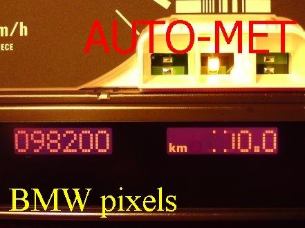 naprawa wyświetlaczy BMW