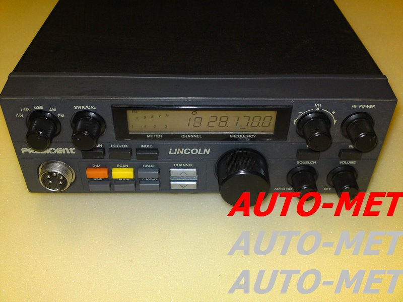 naprawa cb radio LINCOLN auto-met.net
