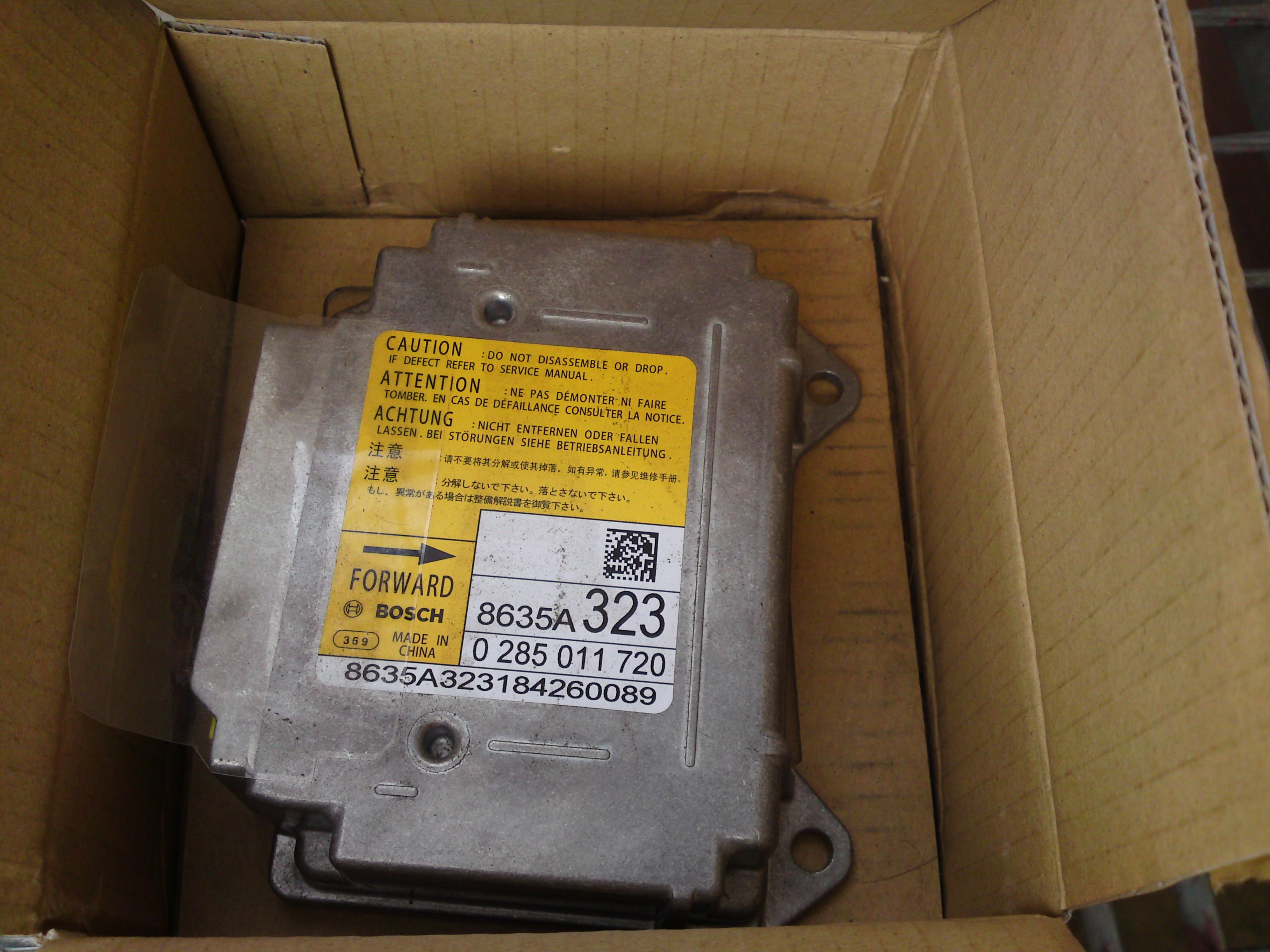 sensor poduszek MITSUBISHI ASX outlander USA 8635A323 nowy czysty