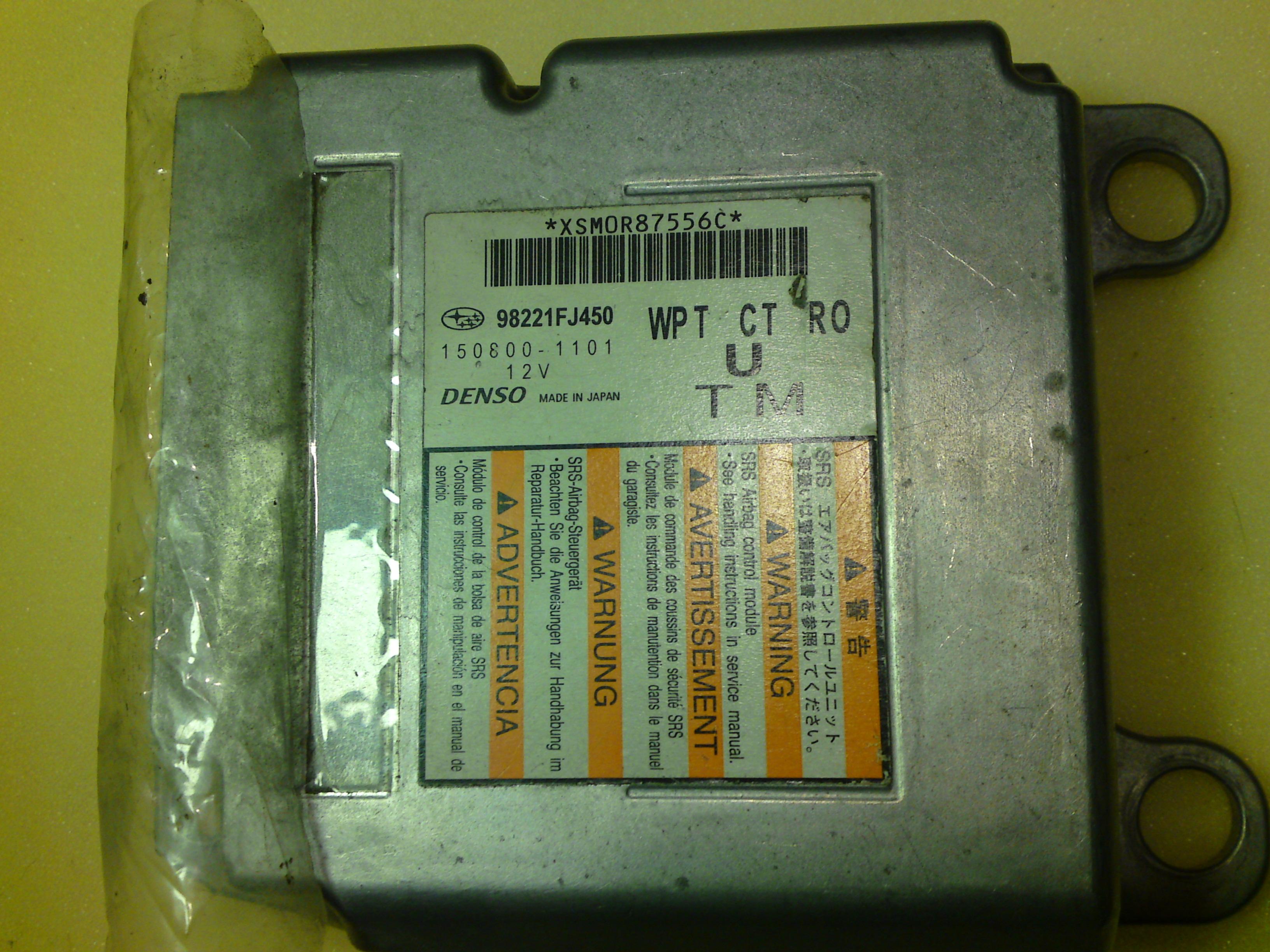 sensor subaru XV crosstrek 150800-1101 98221FJ450