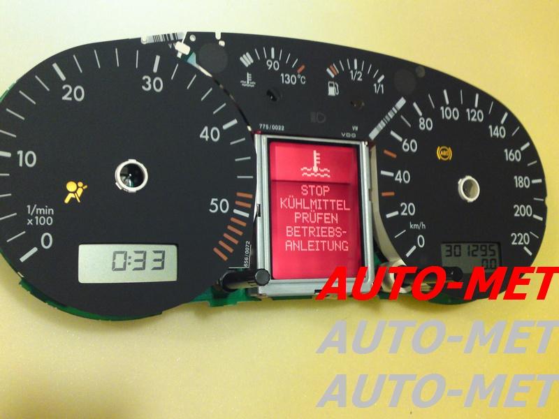 naprawa wyświetlacza AUDI VW warszawa